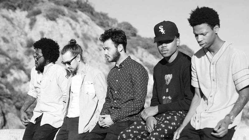 Chance The Rapper finds good company on Donnie Trumpet's Surf