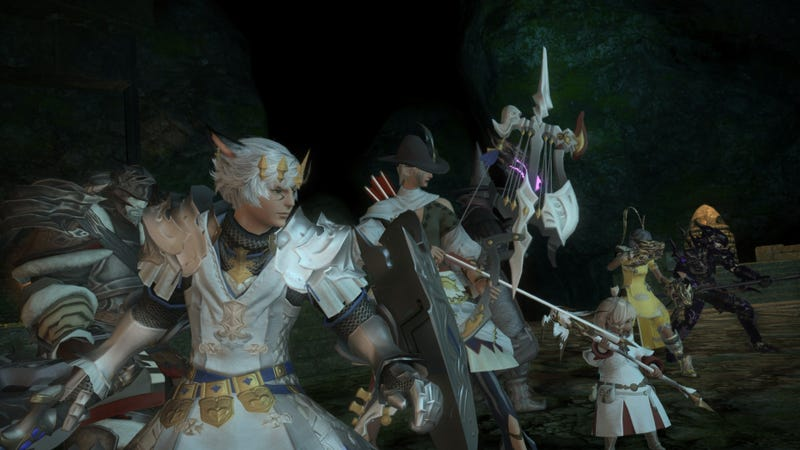 Illustration for article titled Final Fantasy XIV May Let You Pay To Catch Up