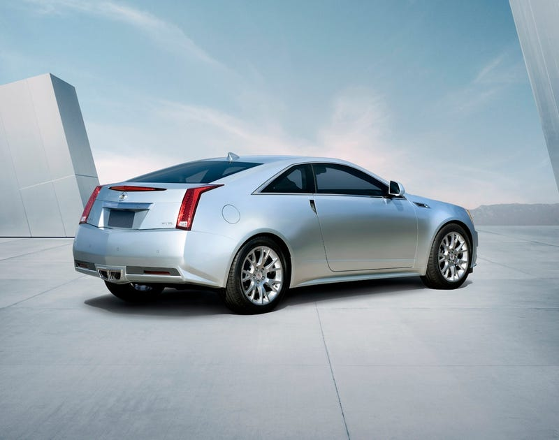 Illustration for article titled Cadillac CTS Coupe: The Cadillac Of Coupes