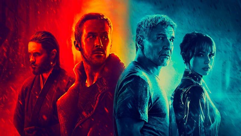 The cast of Blade Runner 2049.