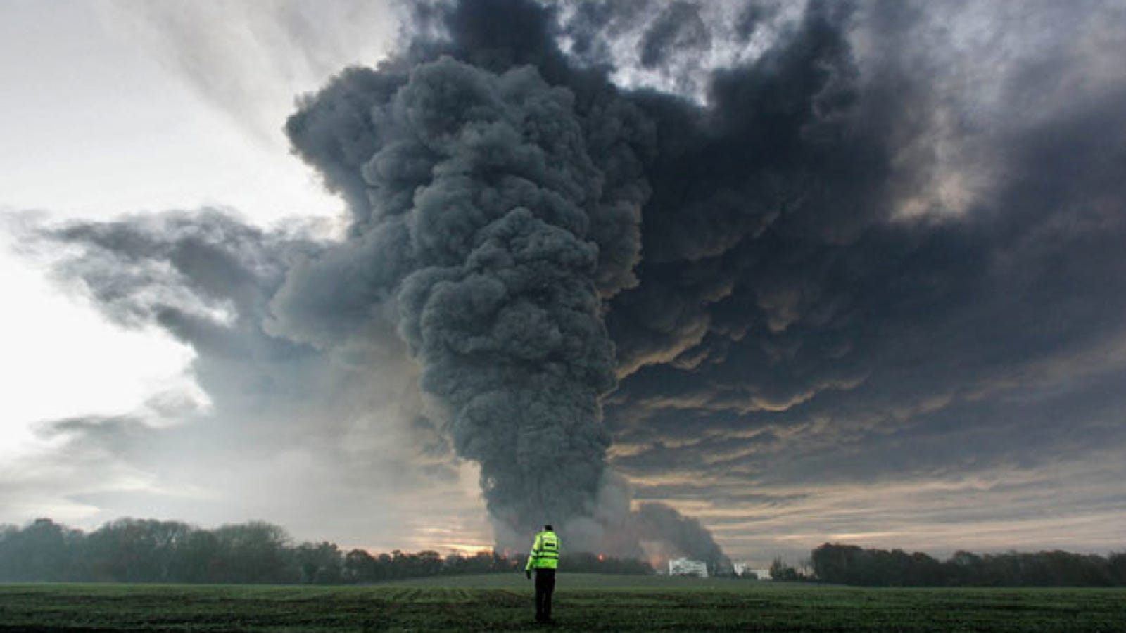 One of history's most violent explosions may have been caused by trees