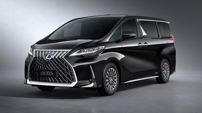 Illustration for article titled This Lexus LM Minivan Might Be the Ugliest Thing I've Ever Seen and it's Beautiful