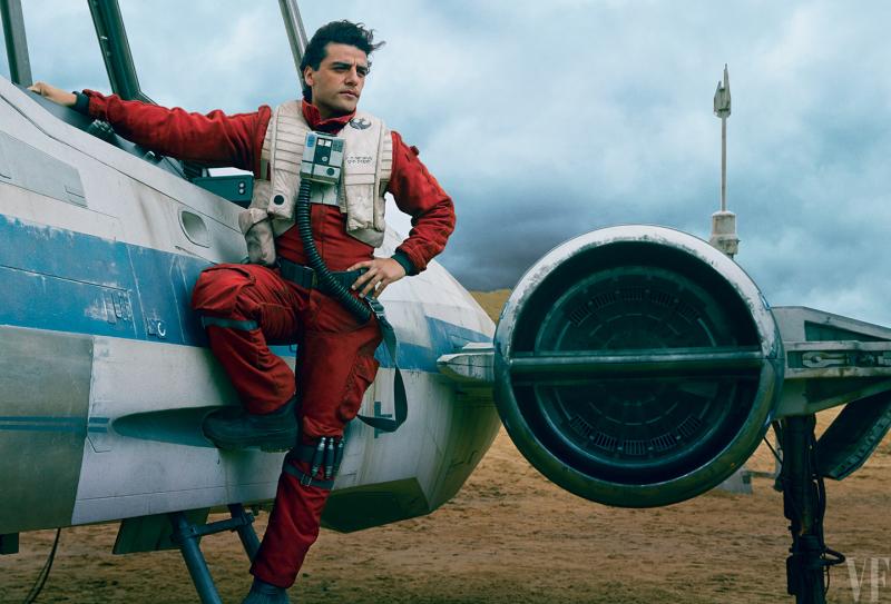 Illustration for article titled La historia original de Poe Dameron en Star Wars: The Force Awakens era muy diferente