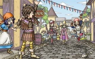 Illustration for article titled U.S. Dragon Quest IX Events Let You Play Tag With A Friend