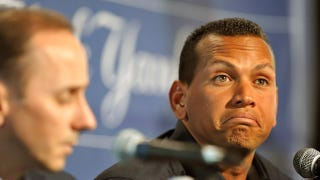 Illustration for article titled Yankees GM Confirms Team Won't Pay Alex Rodriguez His Home Run Bonus