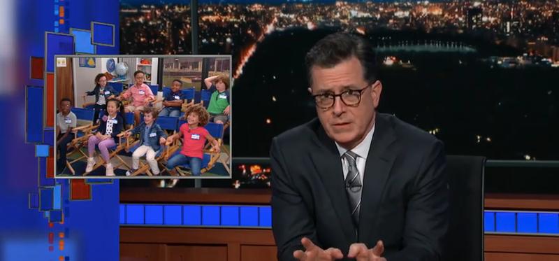 Kids, Stephen Colbert