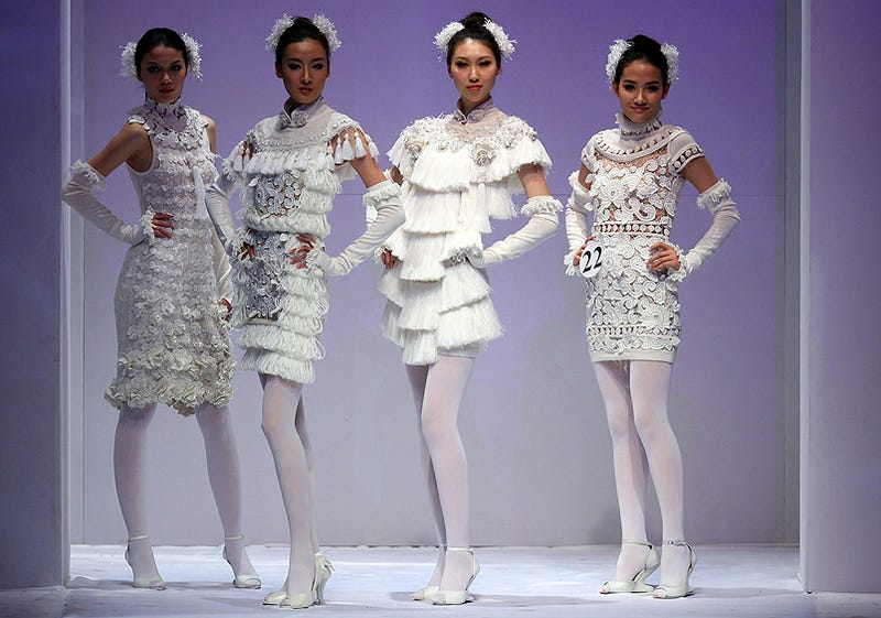 Illustration for article titled China Fashion Week: The Fab Four