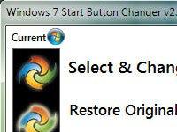 Windows 7 Start Button Changer Swaps Start Button Icon