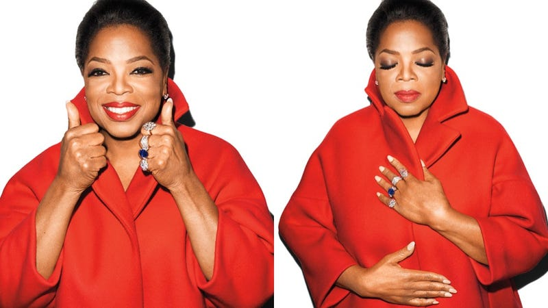Illustration for article titled Oprah Does a Photo Shoot With Terry Richardson, Wishes 50 Shades Would 'Get to the Juicy Part'