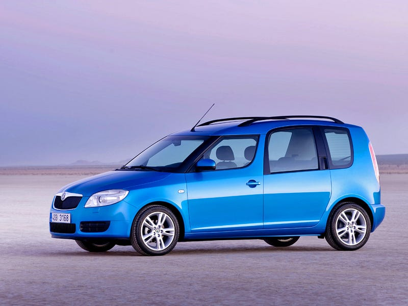 Illustration for article titled VW needs to sell the Skoda Roomster over here