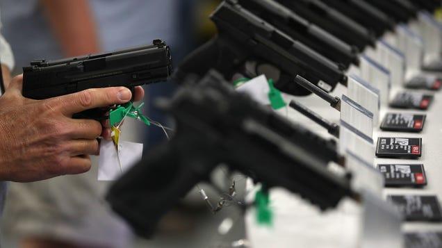 Tragic: Gun Manufacturers Temporarily Worth Slightly Less Due to Lack of Civil War