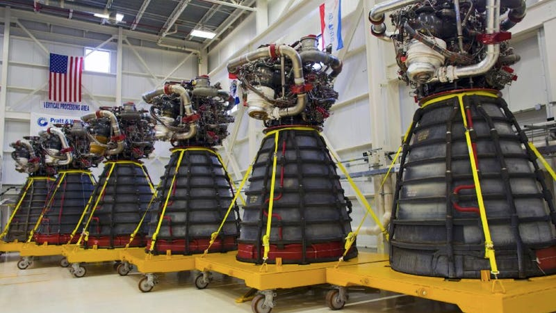 "Illustration for article titled Six Daleks are en route to NASA's Stennis Space Center disguised as ""space shuttle engines"""