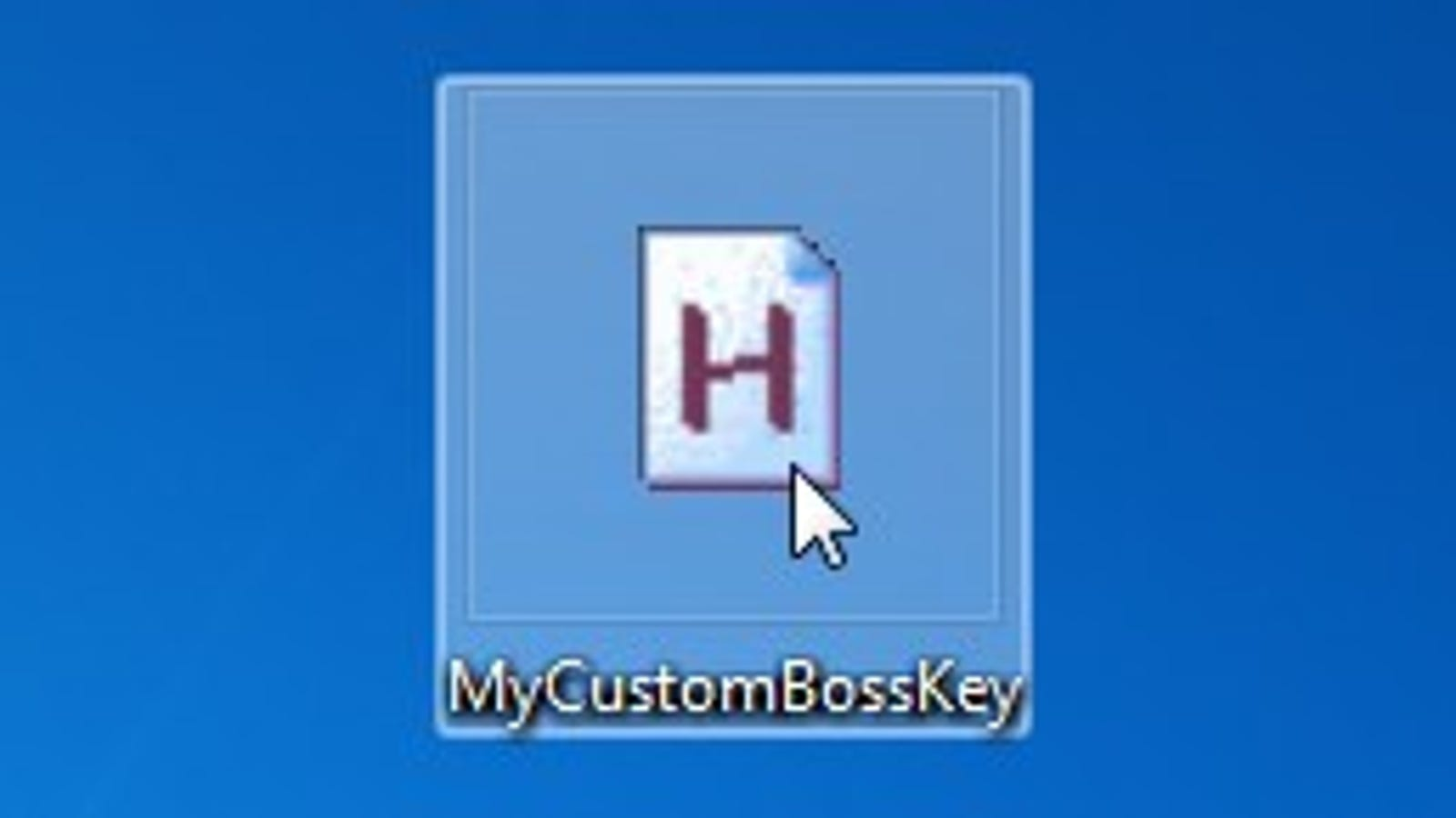 Create a Perfect, Customized Boss Key With AutoHotkey