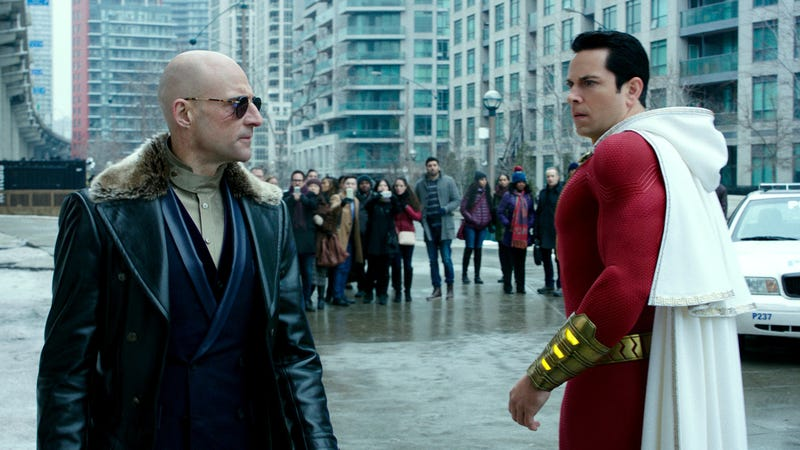 What you're looking at here are the first reactions to Shazam.