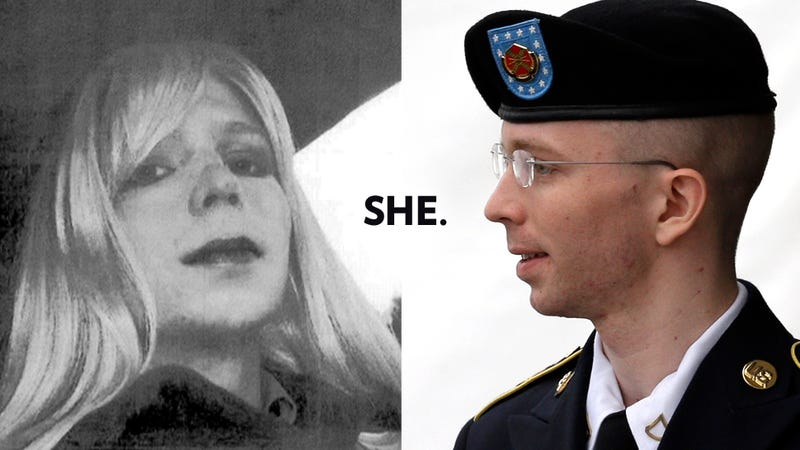 Illustration for article titled Chelsea Manning Is Finally Called a Woman By the Army