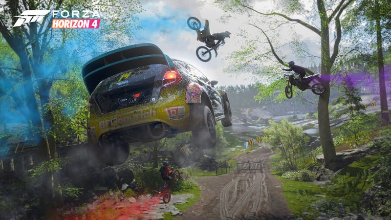 Illustration for article titled What Do You Want to Know About Forza Horizon 4?