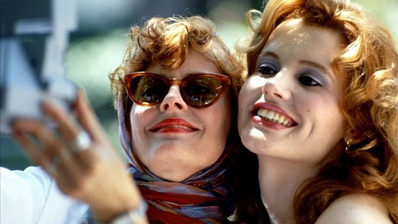 Illustration for article titled Much Better! Someone Recut The 'Thelma & Louise' Ending To Be Body-Positive