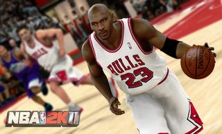 "Illustration for article titled Relive History with ""The Jordan Challenge"" in NBA 2K11"