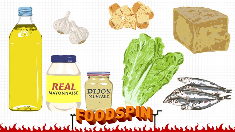 Illustration for article titled How To Craft A Caesar Salad And Not Settle For Less In Life