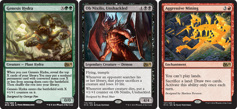 Magic: The Gathering Cards Designed By Star Video Game Designers