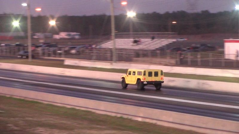 Illustration for article titled I Took My Hummer To A Drag Strip