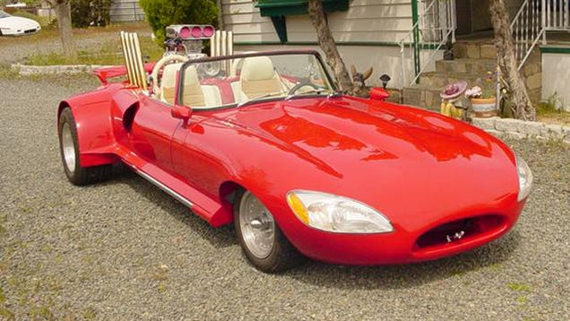 This Is The Weirdest Jaguar E Type Weve Ever Seen on jaguar xke modifications