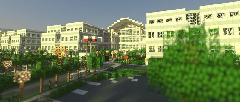 Illustration for article titled I'd Love To Work at Apple's Minecraft HQ