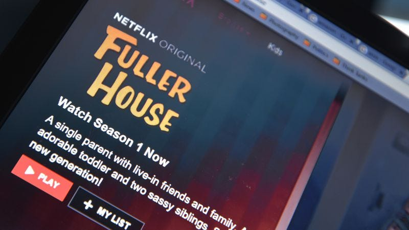 Interestingly, this was the only Netflix image available via our subscription (Photo: NurPhoto/Getty Images)