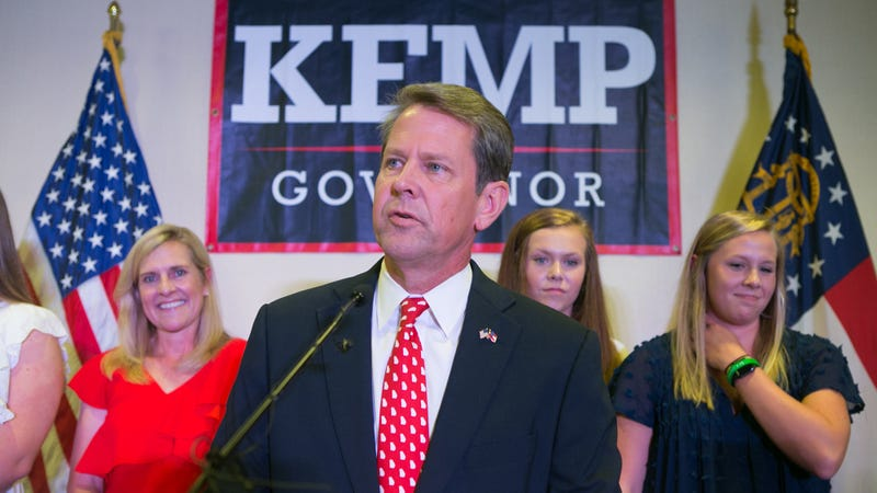 Illustration for article titled Brian Kemp Campaign Energized After Seeing Early Voter Suppression Numbers