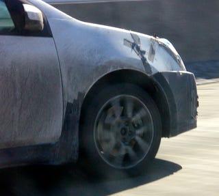 Illustration for article titled Spy Photos: 2008 Nissan Sentra SE-R?