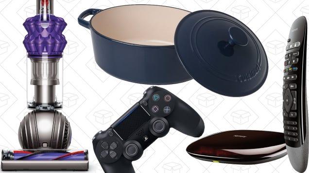 Saturday's Best Deals: Harmony Smart Control, DualShock 4, Cast Iron Cookware