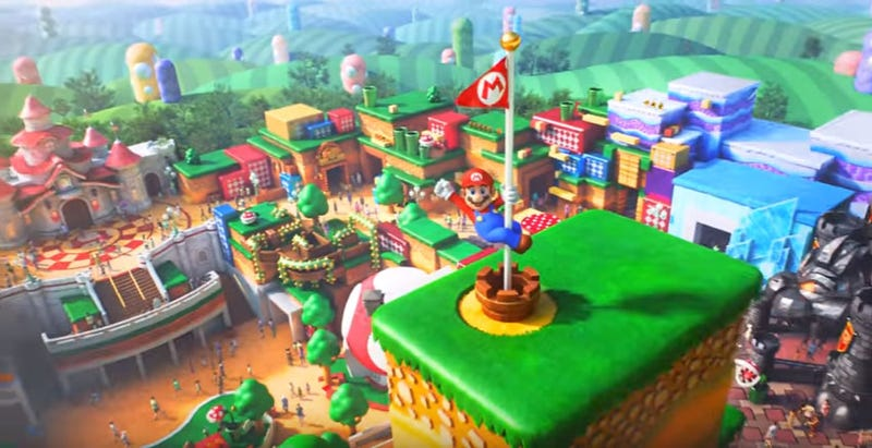 Illustration for article titled Nintendo's Theme Park Teased In Cute New Trailer