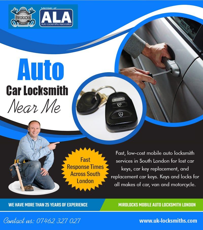 Illustration for article titled Auto Car Locksmith   near me | Call - 07462 327 027 | uk-locksmiths.com
