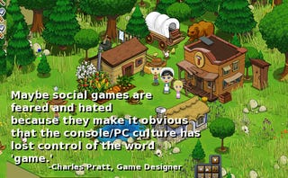 Illustration for article titled Why All The Farmville, Frontierville, Facebook Game Hate?