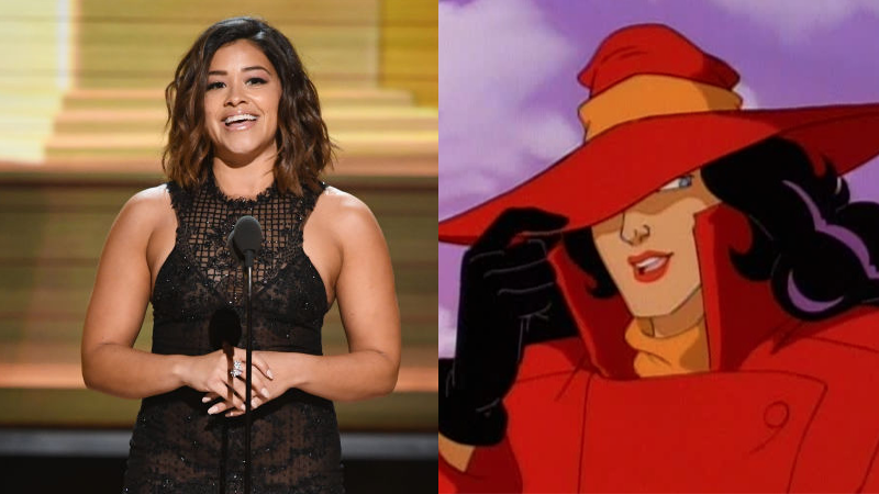 Gina Rodriguez to voice Carmen Sandiego on new animated series