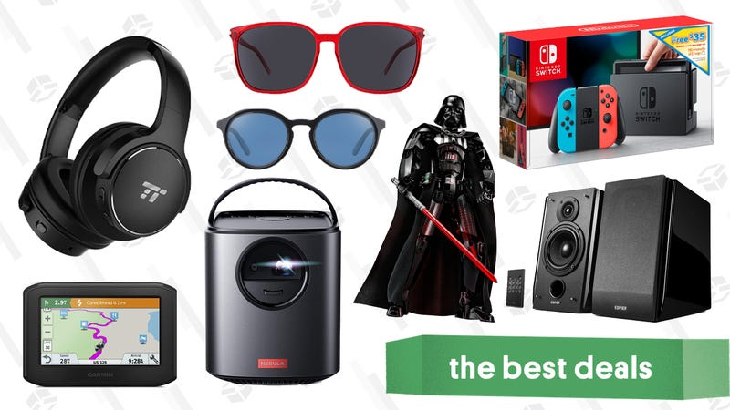 Illustration for article titled Friday's Best Deals: LEGO Darth Vader, Marmot, Nintendo Switch, Anker Projectors, and More