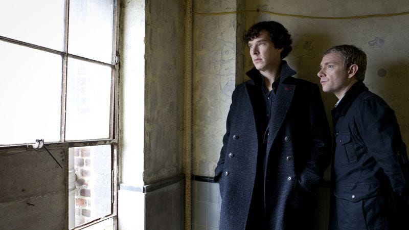 """Illustration for article titled Sherlock in """"The Case Of The Swiftly Saturating Sunday Schedule"""""""