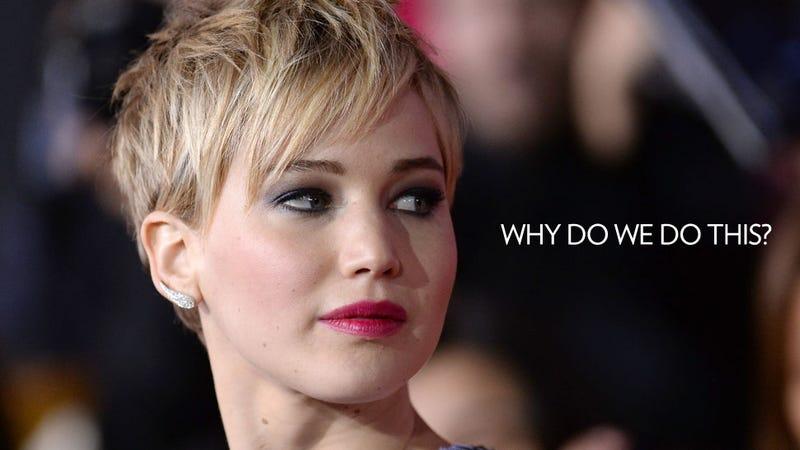 Illustration for article titled Brace Yourselves for the Jennifer Lawrence Backlash