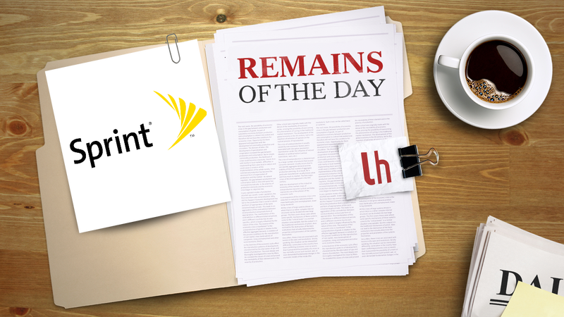 Illustration for article titled Remains of the Day: Sprint LTE Now Available in New York City, Washington DC
