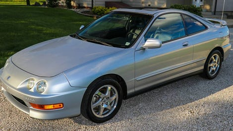 At $4,433, Would You Make This 2001 Acura Integra GS-R An Integral ...