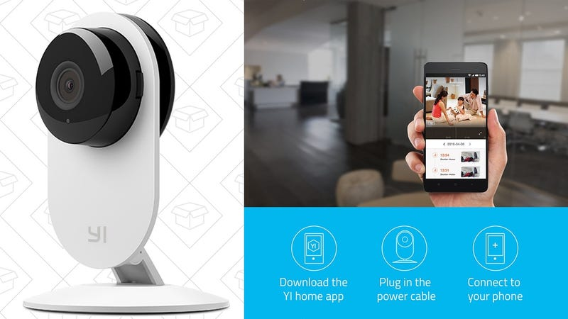 4-Pack Yi Home Security Cameras | $100 | Daily Steals via Facebook