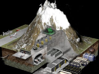 Illustration for article titled The Blueprint To All Our Data Is Hidden Inside This Mountain Fortress