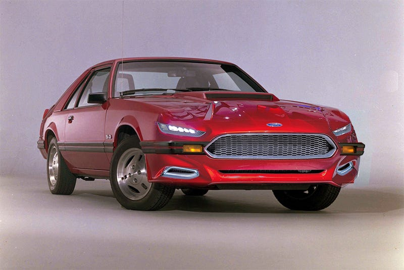 Illustration for article titled Because everyone is rendering a 2015 Mustang