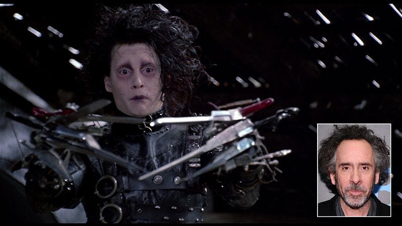 Illustration for article titled Interesting: Tim Burton Revealed That He Got The Idea For Edward Scissorhands From Scissors
