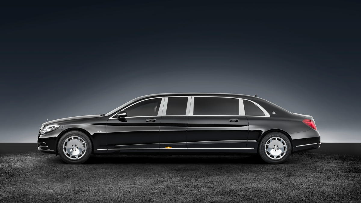 The Mercedes Maybach S 600 Pullman Guard Will Save Your Hide When