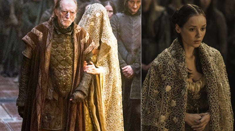The Sad Wedding Dresses Of Game Thrones Most Miserable Brides