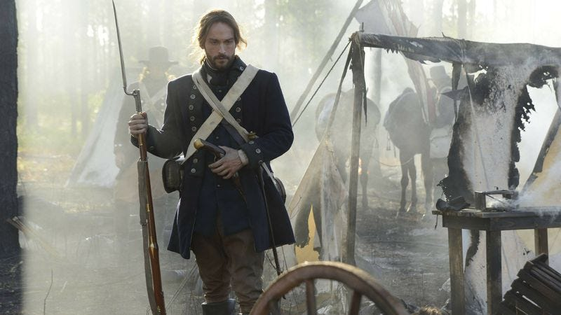 Illustration for article titled Unexpectedly entertaining Sleepy Hollow becomes first, unexpected renewal of the fall TV season