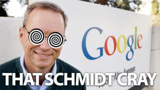 "Illustration for article titled Eric Schmidt Thinks Controlling Google Glass with Your Voice Is ""the Weirdest Thing"""