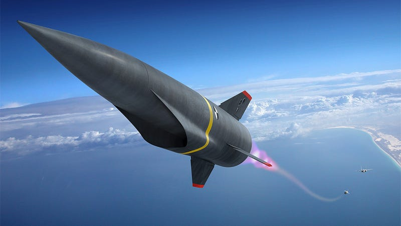 Illustration for article titled America's next hypersonic missile seems designed by ACME and the Coyote