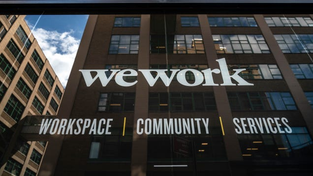 WeWork Gets a Life Raft: Report